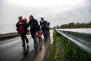 Guarda la versione ingrandita di Immigrati clandestini, 5 euro per entrare nell'area Schengen: idea dell'Ue (foto Ansa)