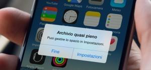 iPhone, come liberare spazio della memoria senza cancellare niente