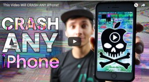 YOUTUBE Hai un iPhone? Attento a questo link: il video blocca lo smartphone