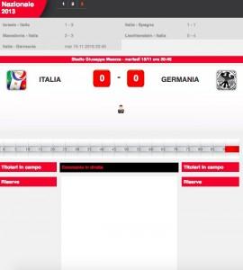 Italia-Germania diretta live. Formazioni ufficiali dopo le 20.30