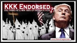 Elezioni Usa. David Duke, Ku Klux Klan, canta vittoria per Donald Trump