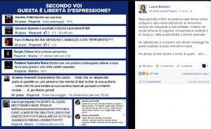 Laura Boldrini su Fb: ecco nomi cognomi e facce di chi mi augura la morte FOTO