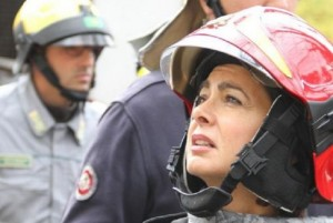 """Laura Boldrini ai bambini terremotati: """"Adesso siete in vacanza"""""""