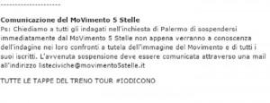 """M5s, 8 indagati a Palermo. Beppe Grillo: """"Sospendetevi"""""""