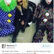 I clown tristi di Madonna