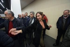 Malena la Pugliese alla convention con Matteo Renzi FOTO