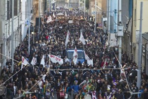 Roma, week end di cortei e sit-in: tutti i blocchi al traffico
