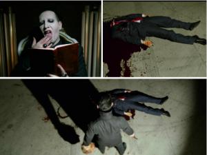 Marilyn Manson decapita Donald Trump nel nuovo