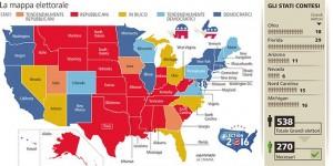 Usa, come si vota: 538 grandi elettori fanno il presidente