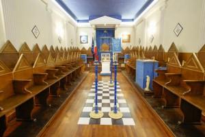 Guarda la versione ingrandita di Giudice Magi in tempio massonico per parlare di Costituzione