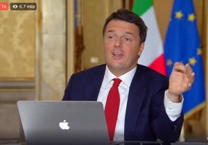"""Matteo Renzi: """"Famiglia Riva pagherà oltre 1 mld di euro per Ilva di Taranto"""""""