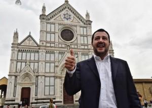 Matteo Salvini a Beppe Grillo: Trump è mio, ci sputavi sopra...