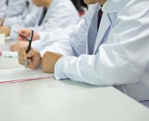 Guarda la versione ingrandita di Sciopero medici della sanità pubblica il 28 novembre (foto Ansa)