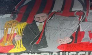 Milan-Inter, striscioni-coreografie derby: Silvio Berlusconi protagonista