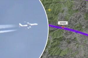 YOUTUBE Il mistero dell' aereo militare che ha sorvolato Denver per un'ora