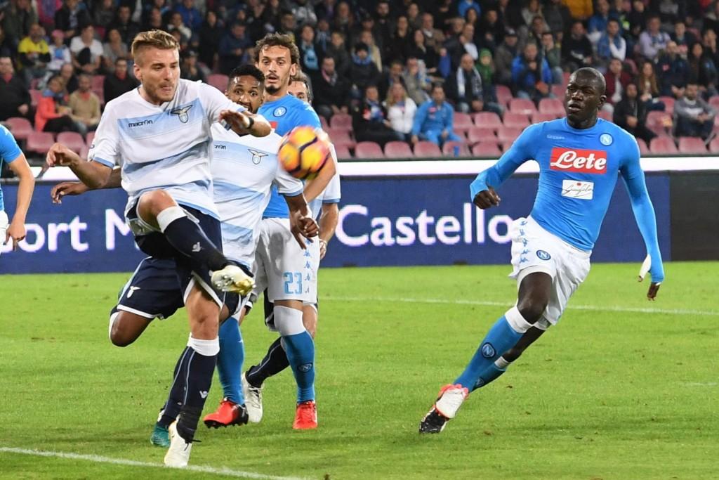 Napoli - Lazio 1-1 (foto Ansa)