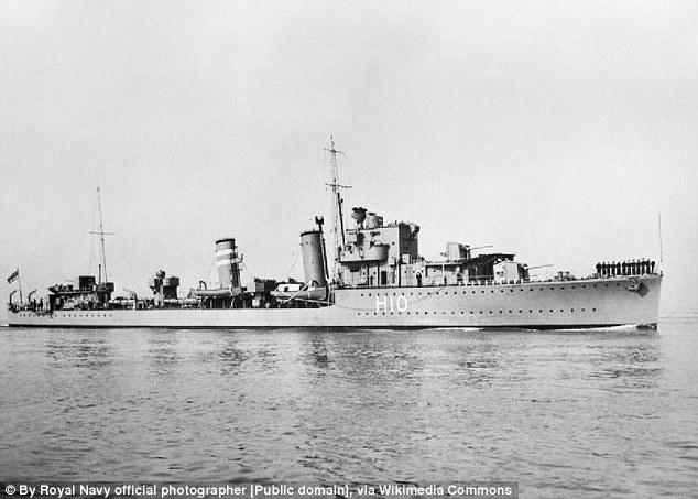 Seconda Guerra Mondiale, navi inglesi affondate sparite dai fondali09