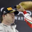 F1, Abu Dhabi: Hamilton vince, ma Rosberg è campione del mondo 2