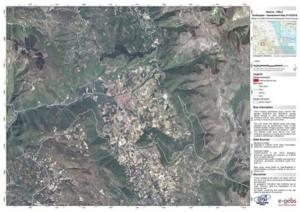 Guarda la versione ingrandita di Terremoto Norcia, le prime immagini dai satelliti FOTO