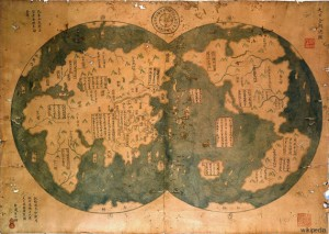Guarda la versione ingrandita di La mappa di Zheng He