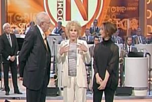 Ornella Vanoni sbotta contro Pippo Baudo in diretta tv VIDEO
