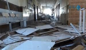 L' ospedale bombardato
