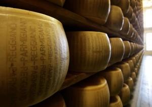 Ladri di formaggio in Emilia: rubate 30 forme di Parmigiano Reggiano
