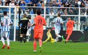 Guarda la versione ingrandita di Pescara - Empoli 0-4 (foto Ansa)