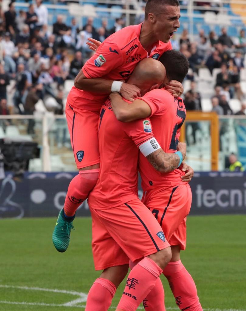 Pescara - Empoli 0-4 (foto Ansa)