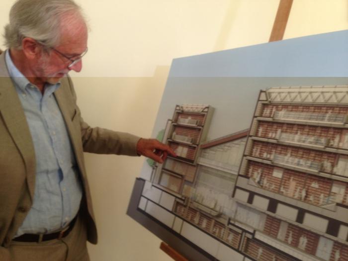 Renzo Piano inaugura la biblioteca dell'Università di Trento: 7 piani, 340mila volumi 2