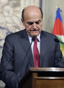 """Bersani: """"Renzi imperdonabile, ma se vince il No deve rimanere"""""""