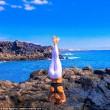 Malin, la pilota svedese fa impazzire il web con le sue pose di Yoga FOTO02
