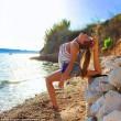 Malin, la pilota svedese fa impazzire il web con le sue pose di Yoga FOTO04