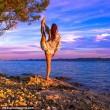Malin, la pilota svedese fa impazzire il web con le sue pose di Yoga FOTO07