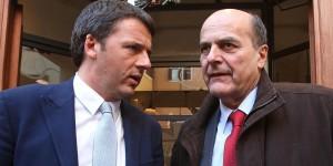"""Referendum, Renzi: """"Bersani ha votato tre volte la riforma, ora..."""""""