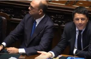 """Scontro sul labiale e i gesti di Renzi. Brunetta: """"Ha dato della matta a Polverini"""""""