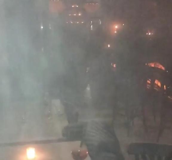 Belen Rodriguez, incidente nel suo ristorante a Milano (Foto e Video)