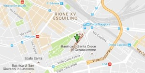 Guarda la versione ingrandita di Terremoto: crepe in palazzo centro Roma, sfollate 20 famiglie