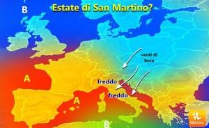 Meteo, estate di San Martino con sole e freddo: nel weekend nuovo peggioramento