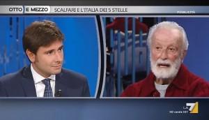 Eugenio Scalfari contro Alessandro Di Battista