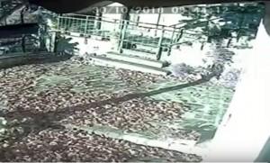 Terremoto, scossa ripresa da telecamera fissa a 30 km dall'epicentro