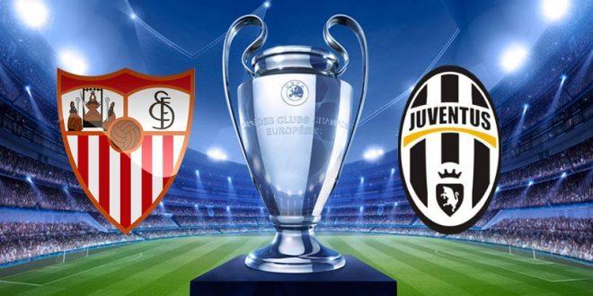 Champions League: Juve agli ottavi, rimontato il Siviglia
