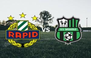 Sassuolo-Rapid Vienna diretta live. Formazioni ufficiali