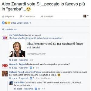 """Referendum, sindaco Giuliano Parodi: """"Alex Zanardi vota Sì. Lo facevo più in gamba"""""""