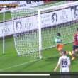 Taranto-Lecce: gol annullato Potenza Gomis gol fantasma immagini