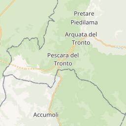 Terremoto Centro Italia: tutte le scosse dello sciame sismico in tempo reale
