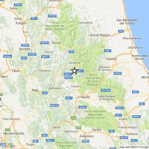 Terremoto Amatrice, scossa di magnitudo 4.4