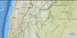 Terremoto Argentina, scossa del 6.2 vicino La Rioja al confine col Cile