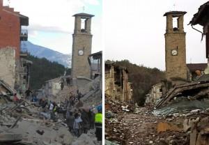 Terremoto Centro Italia, deformata area di 600 km quadrati