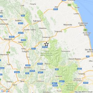 Terremoto Centro Italia: 20 scosse nella notte, più forte magnitudo 3.2